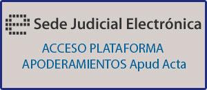 Acceso plataforma Apoderamiento APUD