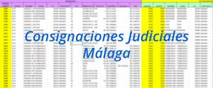 Consignaciones Judiciales Málaga